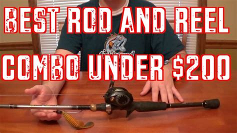 reel rod combo under