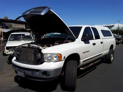 Dodge Diesel Parts by Used 2005 Dodge Ram 2500 Cab Truck Parts Laramie 5 9l