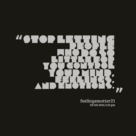 Stop Controlling Others Quotes