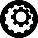 Internal Gears Icon Gear Transmission Svg Reduction