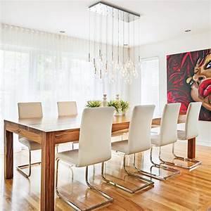 salle a manger contemporaine et chic salle a manger With meuble salle À manger avec chaise contemporaine cuir salle À manger