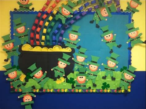 Saint Patrick's Day Rainbow Bulletin Board Ideas For