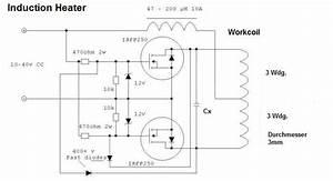 Induction Heater Schaltung