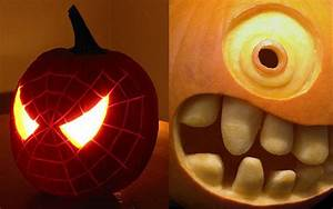 10, Wonderful, Cool, Ideas, For, Pumpkin, Carving, 2020