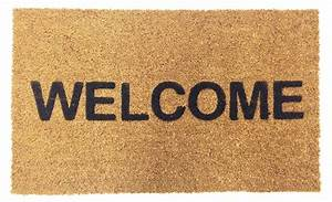 Vinyl Backed Welcome Coco Doormat | Coco Mats N' More