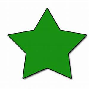 Green Star Clipart - Clipart Suggest
