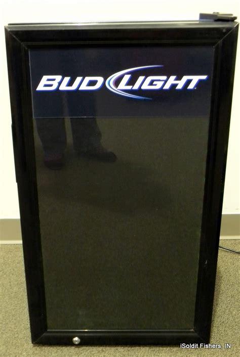 bud light mini fridge nfl bud light mini fridge display cooler ebay