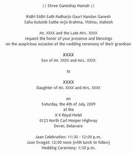 wedding wording samples and ideas for indian wedding With examples of hindu wedding invitation wording