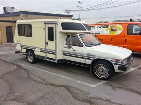 toyota motorhome used rvs 1983 toyota ranger rv for sale by owner