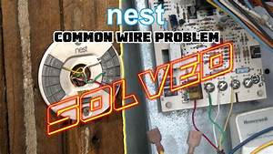 Nest Thermostat No Common Wire- Problem Solved -how To Install Nest