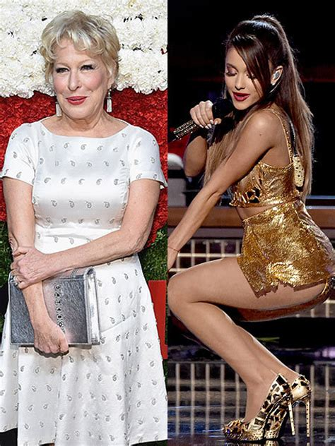 bette midler slams ariana grandes sexy performances