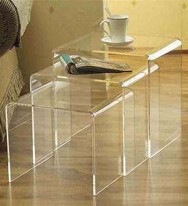 china acrylic nesting tables china acrylic table With acrylic nesting coffee table