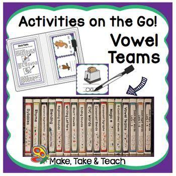 vowel teams activities     images vowel