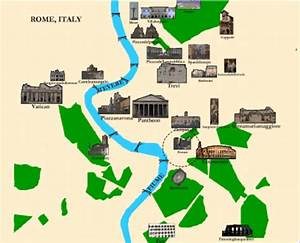 Interactive Tourist Map Of Rome Rendered By Our System