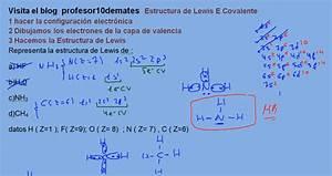 Estructura De Lewis Ejercicios Resueltos Trucos Y Ejemplos