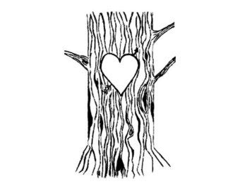 hearts tree cliparts   clip art