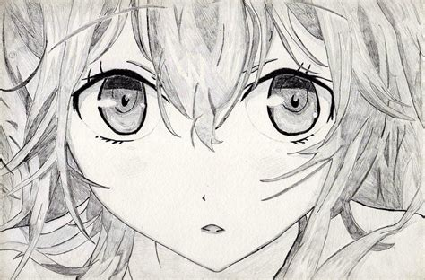 cute anime drawings anime eyes close  drawing manga