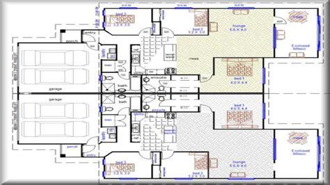 garage house floor plans duplex house plans with garage duplex house plans designs
