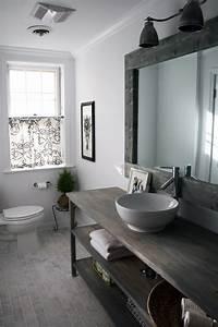 le style campagne dans la salle de bain masalledebaincom With salle de bain style campagne