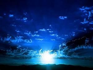 Incredible Dark Blue Sky HD Wallpaper ~ The Wallpaper Database