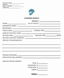 catering invoice templates 8 free word pdf format With catering invoice pdf