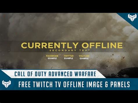 twitch notification images template psd template cod ghosts twitch tv overlays easy to use