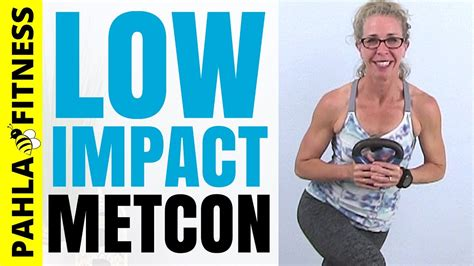 workout kettlebell metcon impact low minute standing