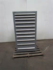 Stanley Vidmar Cabinet Weight by Stanley Vidmar 11 Drawer Cabinet Steel Industrial Tool
