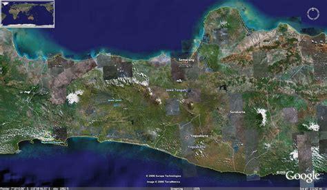 central java photo satelite