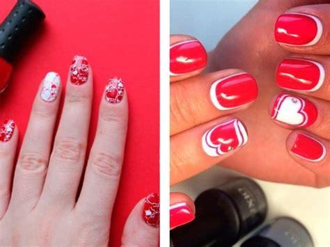 Модный маникюр красный с белым с видео и фото . Joxin журнал для настоящих женщин