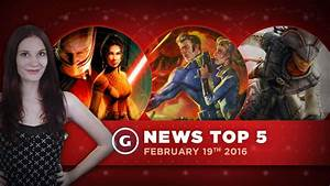 GS News Top 5 - Fallout 4 DLC, Star Wars KOTOR Remake, and ...