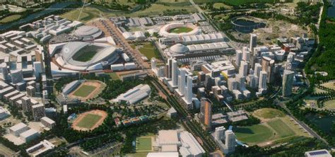 nsw government   turn sydney olympic park