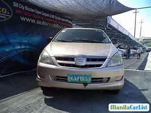 Toyota Innova Manual 2005 For Sale