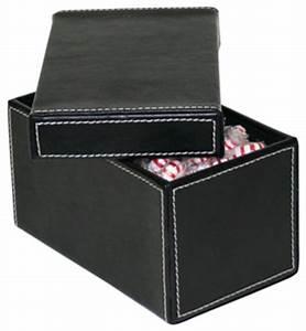 Belle Boite De Rangement : des rangements qui s 39 affichent boites et coffrets de rangement en cuir ~ Farleysfitness.com Idées de Décoration
