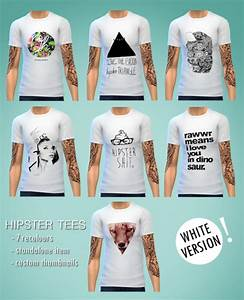 Simovee 14 Hipster Tees | Sims 4 Updates -u2666- Sims 4 Finds u0026 Sims 4 Must Haves -u2666- Free Sims 4 ...