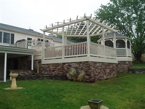 Unique Deck Skirting Ideas by Custom Decks Traditional Patio Baltimore By