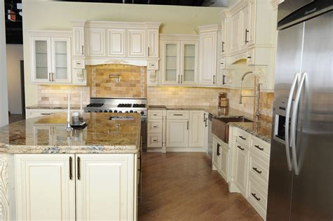 vintage white sweet home cabinets