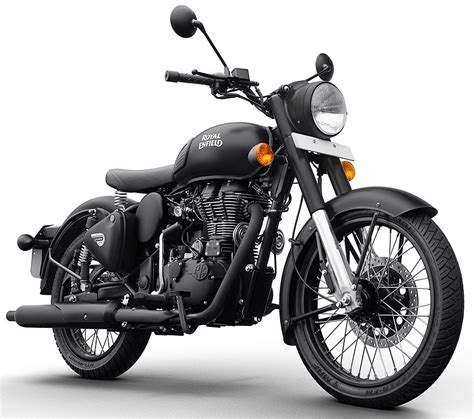 Royal Enfield Classic 500 Image by Royal Enfield Classic 500 Stealth Black Ms