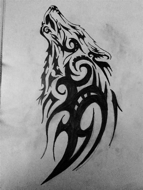 Pin by Mina Wassef on Tattoos | Tattoos, Tribal wolf tattoo, Tribal tattoos