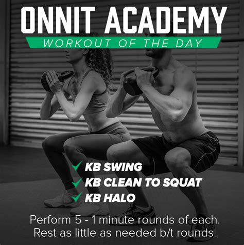 kettlebell onnit academy workout minute rounds