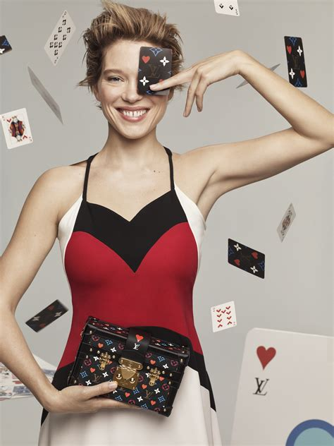 lea seydoux fronts louis vuittons  cruise collection