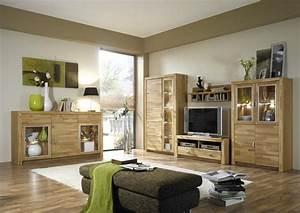 Wohnwand Mit Sideboard : wohnwand in kernbuche teilmassiv woody 97 00015 ~ Frokenaadalensverden.com Haus und Dekorationen