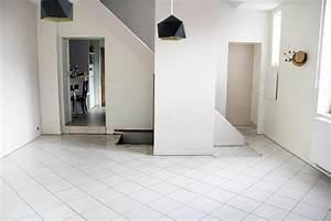 carrelage pour salon pas cher With porte d entrée pvc avec salle de bain beton cire prix
