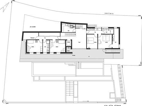 minimalist mountain top home designed  panoramic