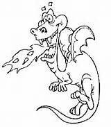 Coloring Pages Dragon Ice Cool Printable Fire Breathing Related sketch template