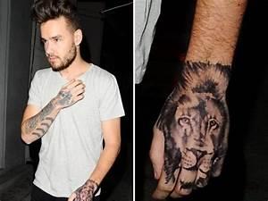 One Direction's Liam Payne got a fake hand tattoo | Metro News