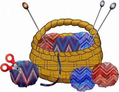 Knitting Cartoon Clipart Transparent Pinclipart Yarn Crochet