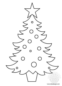 disegni  natale  bambini albero  natale