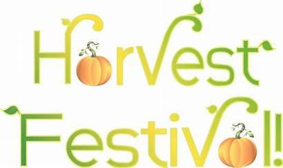 Harvest Clip Festival Fall Clipart Leaves Christian