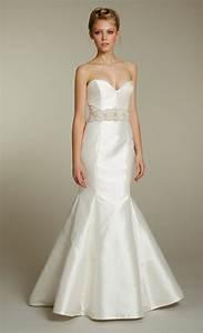 sleek ivory sweetheart mermaid wedding dress with With sashes for wedding dresses